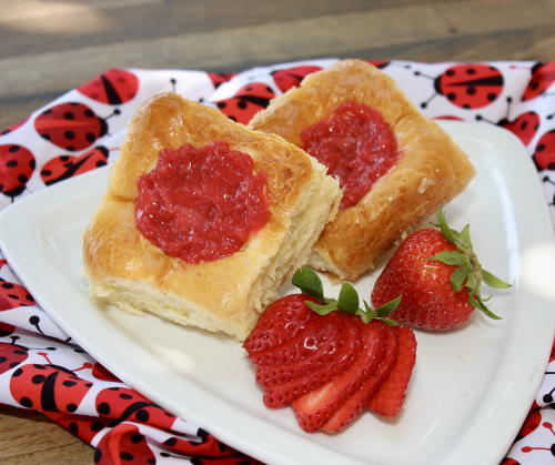 Strawberry Kolaches