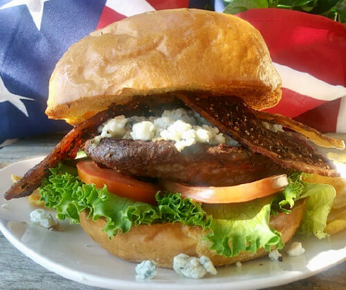 TRY OUR JULY B.O.M.B (BURGER-OF-THE-MONTH-BURGER)