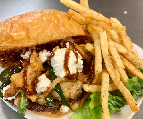 TRY OUR SEPTEMBER B.O.M.B (BURGER-OF-THE-MONTH-BURGER)